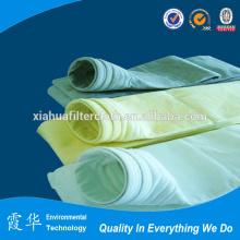 PTFE sacs filtre à feutre pour usine de ciment