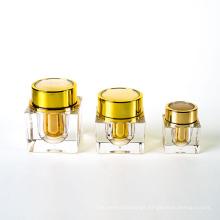 15g 30g 50g Square Acrylic Cream Jar (EF-J41)