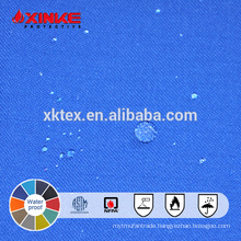 water and oil repellent fabric for safety clothing