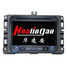 Navigation GPS Hualingan pour Dodge RM 1500 Lecteur DVD de voiture avec affichage vidéo HD 1080P