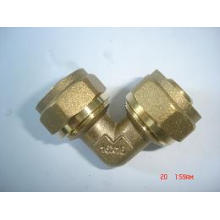 Ktm Elbow Rohrverschraubung für Pex-Al-Pex Rohr, Laser oder Überlappung Aluminuim Kunststoffrohr