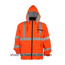 En ISO 20471 Safety Reflective Hoodies with Hat