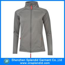 2016 Custom Design Grey Softshell Jacket with High Quality