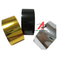 black 30mm width 120M Length  Hot Stamping Foil expiry lot number stamping ribbon date batch machine