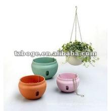 underslung plastic flower pot mould