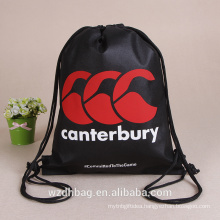 Wholesale Cheap Polyester Drawstring Bag School Bag Durable Backpack
