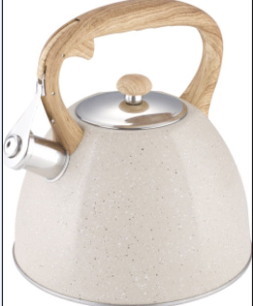 Marble coating water kettle