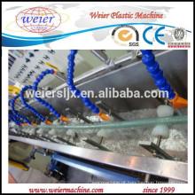 mangueira de água de PVC macia faz a linha de máquina