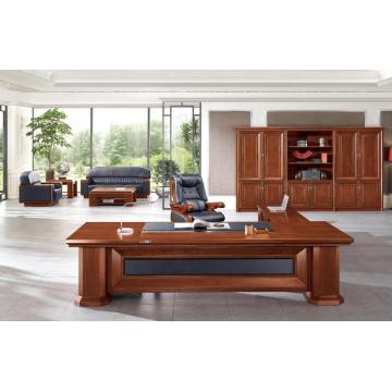 Suite de muebles de oficina ejecutiva de madera clásica en venta