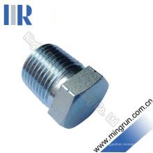 Adaptador hidráulico do conector hidráulico masculino do tubo do plugue de BSPT (4T-SP)