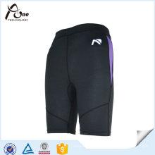 Hommes Polyester Spandex Gym Running Sports Shorts