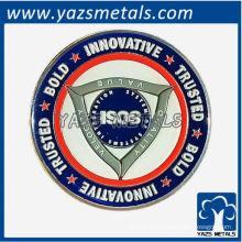 moneda personalizada del recuerdo con el logotipo único de encargo del diseño