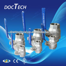 2-PC Female Thread Stainless Steel Ball Valve dn 50 Made In China