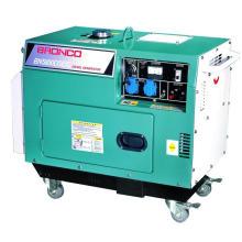 (3KW / 4KW / 5KW monophasé / triphasé) puissance évaluée 4.2kw, générateur diesel refroidi par air de 220V (type silencieux)