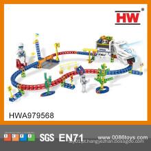 Interessante slot carros enigma trem trilha brinquedos crianças brinquedo carros pista de corrida