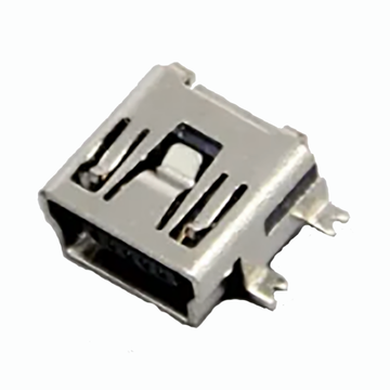 Mini USB AB 5P SMT Short Body Sink 1,8 mm