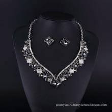 Мода Агат и Hemitate горный хрусталь женщины ожерелье 2016