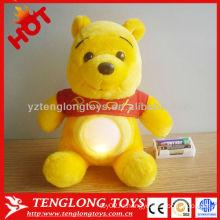 Симпатичные милые дети Винни медведь ночь свет плюшевые игрушки