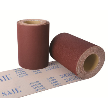 Calcined Aluminum Oxide  Abrasive Cloth Roll