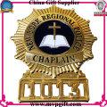 Bespoken Metal Police Badge with 3D Logo