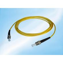 Cordón de remiendo de la fibra óptica del PVC simplex SM de 3m 3.0mm St-St