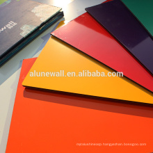 FEVE Coating Glossy Color Aluminum Composite Panel For Adverting