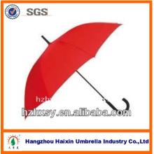 Guarda-chuva vermelho reto