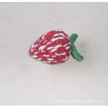 Dog Cotton Rope Strawberry Toy, Pet Toy