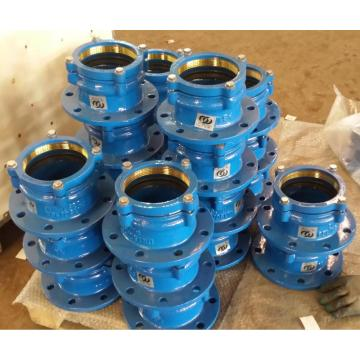 PE Ductile Iron Restraint Flanschadapter