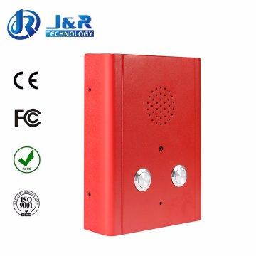 Porte Téléphone SIP, Ascenseur Interphone, Téléphone mains libres Vandalproof