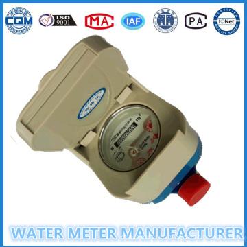 Medidor de agua, tarjeta de IC / RF Prepaid Smart Type (Dn15-25mm)