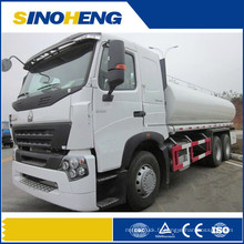 Camion de bateau-citerne de carburant de Sinotruk 6 * 4 25cbm ou camion de transport diesel