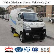 Changan Euro4 Vacuumed Type Truck Mounted Road Sweeping Machine