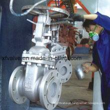ANSI Standard 150lb Válvula de Válvula de Flange de Flange de Aço Wcb