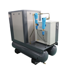 APCOM 10hp 7.5 kw 145 psi  Integrated combined 7.5HP air dry screw compressor 5.5KW importer