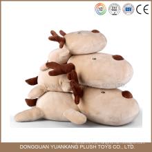 Personalizado adorável pelúcia natal cervos brinquedo animal