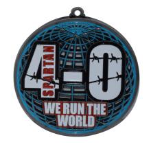 Customized metal paint Games medal marathon running commemorative supplier