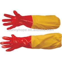 PVC-Handschuhe mit extra langen Ärmeln