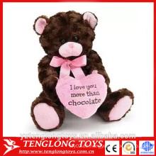 Oso de felpa oso de peluche, oso de peluche de San Valentín peluche