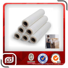 PE Transparent Power Shrink Wrap Manual Stretch Film for Pallet Wrapping
