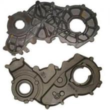 Серый металлический кожух двигателя для дизельного двигателя