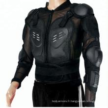 Hot vente moto armure de corps moto bras épaule dos protecteur