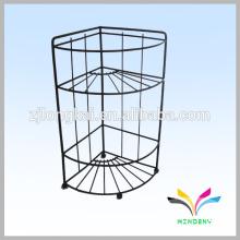 3 cubiertas de neumáticos piso de metal stand art show wire display racks