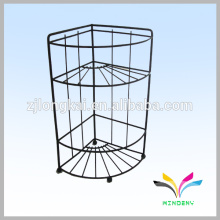 3 tire indoor floor metal stand art show wire display racks