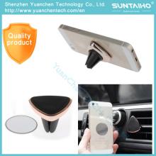 Titular magnético del teléfono del coche del soporte del tenedor de la salida de aire para el iPhone 6 6s 7