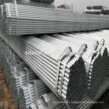 Galvanized Q195/Q235/Q245 Round Square Steel Pipe