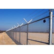 Barbed Wire Chainlink Wire Mesh Fence