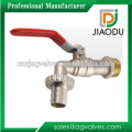 """1/2"""" Brass Forged Nickel Plated Bibcock With Hose Union"""