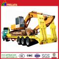 3 Axles Heavy Duty Equipment Transport Low Bed Trailer