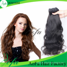 Indian Natural Wave Virgin Hair Remy Human Extension